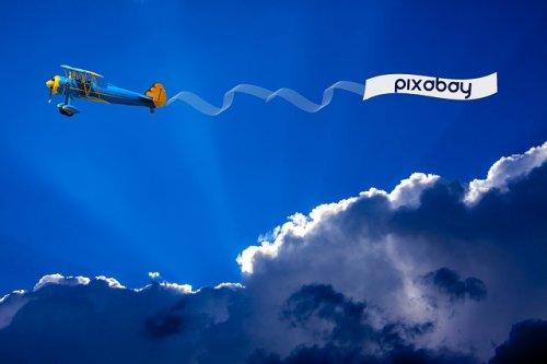 Luchtsleepreclame