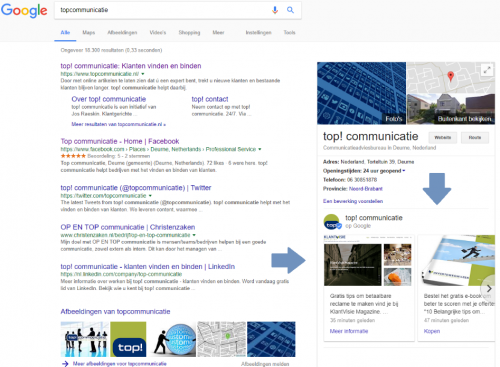 Plaats Google Posts voor de vindbaarheid van je website